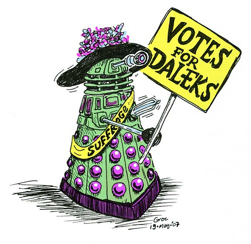 votes for daleks