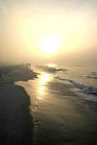 beach sunrise florida