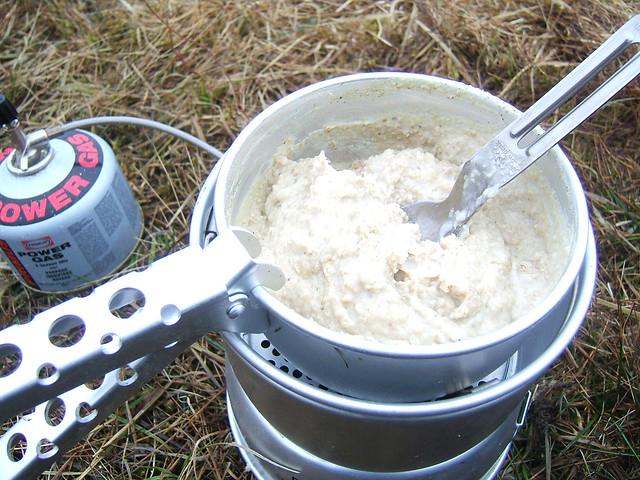 Evening oatmeal