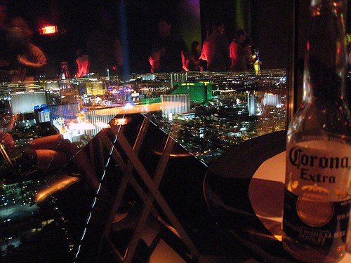 the view & my beer
