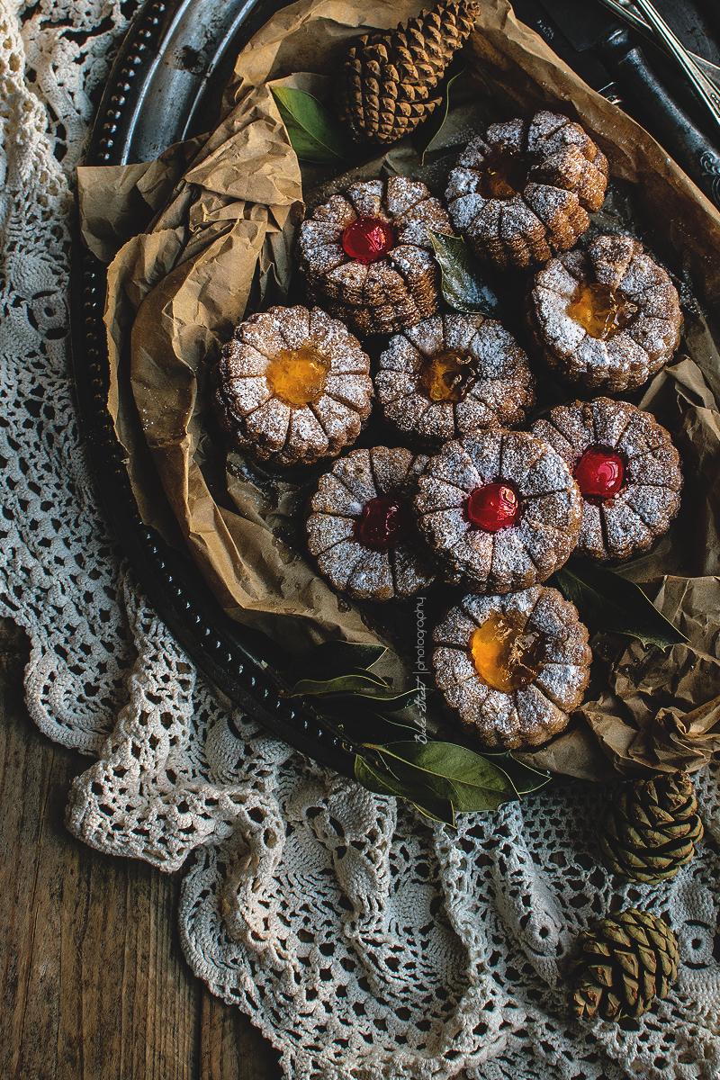 Flores de jalea y guindas, vuelta a los dulces vintage