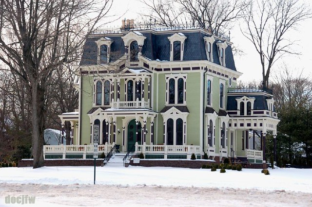 Victorian second empire style flickr photo sharing for Historic second empire house plans