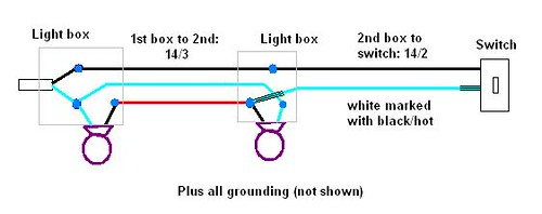 Wiring Diagram For A Switch Loop : Ohw view topic electrical switch loop with two light