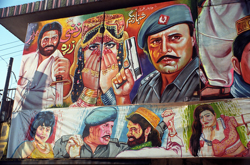 Hand Painted Cinema Hoarding, Peshawar, Pakistan