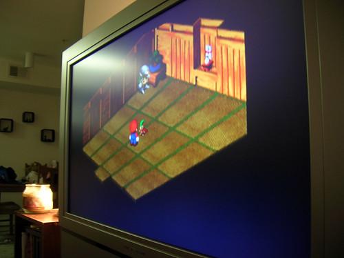 Super Mario RPG x SNES x XBMC x Olevia 332h 720p
