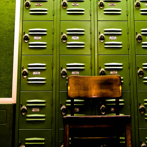 The Green Lockers in Stack 5