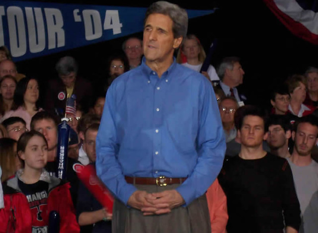 April 12th, 2004 - John Kerry Rally - University of New Hampshire Pic 12