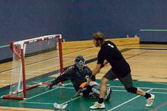 roller hockey(0.0), roller in-line hockey(0.0), stick and ball games(1.0), floor hockey(1.0), sports(1.0), competition event(1.0), team sport(1.0), hockey(1.0), player(1.0), floorball(1.0), ball game(1.0),
