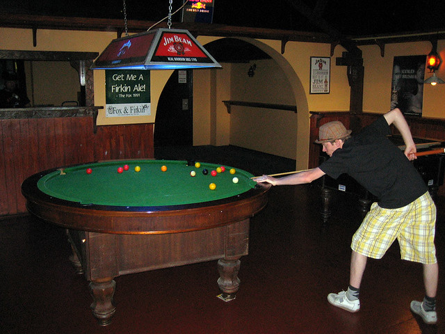 Round Pool Table Flickr Photo Sharing