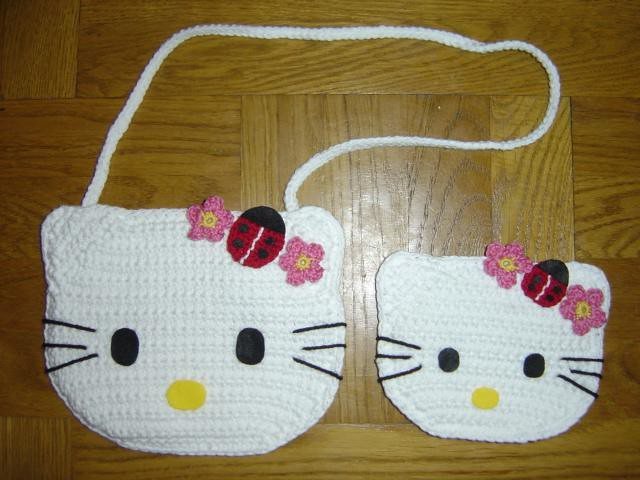 How To Crochet Hello Kitty Bag By Marifu6a Free Pattern Tutorial : photo