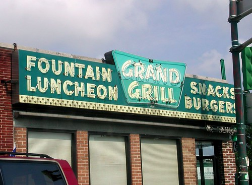 Grand Grill Sign