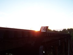 Sunset Over the Trestle