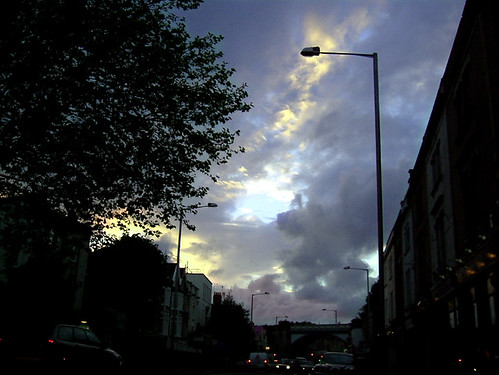 Cheltenham Road clouds