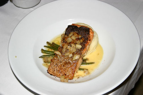 Salmon, Ritz-Carlton in New Orleans