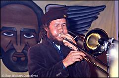 tuba(0.0), musician(1.0), trumpet(1.0), trombone(1.0), musical instrument(1.0), music(1.0), jazz(1.0), brass instrument(1.0),