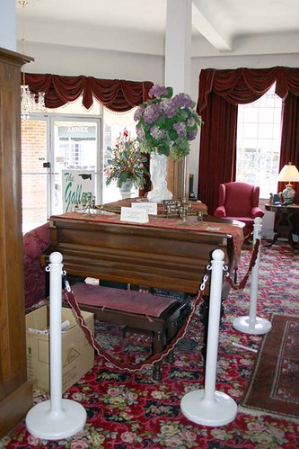 Hotel Talisi downstairs lobby, Tallassee, AL