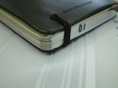 Nokia-striped Moleskine