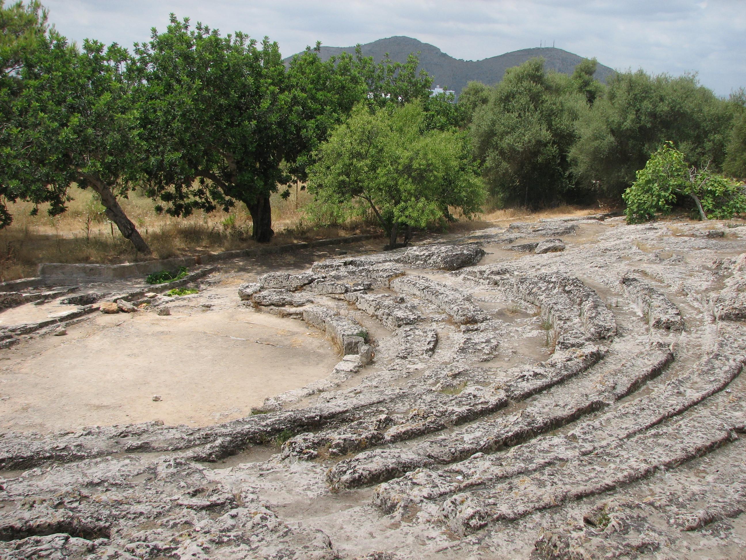 Teatro romano de Pollentia (Alcudia, Mallorca)