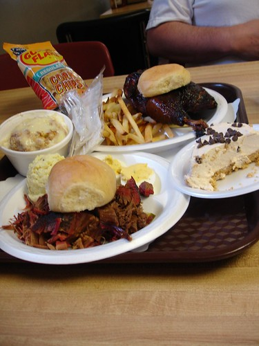 How To Eat (Miss Myra's, Cahaba Heights AL)