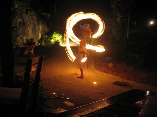 kerosene fire show