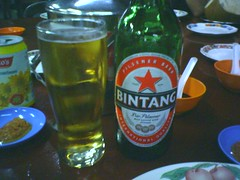 Bintang beer from Indonesia
