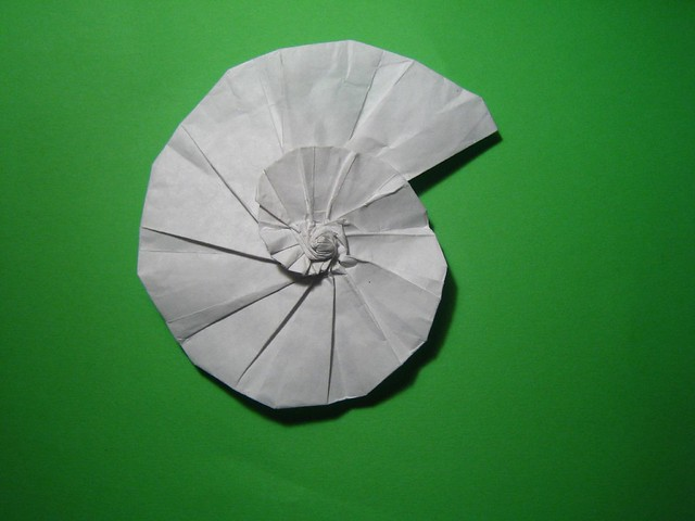 snail shell origami: type 2 | Flickr - Photo Sharing!