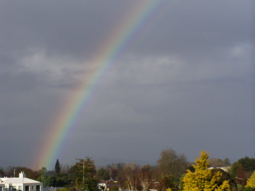 Rainbow 6 (taken by Nina from our balcony)