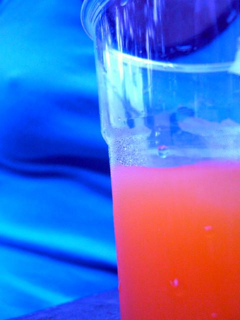 Blue girl and orange cocktail flickr photo sharing for Orange and blue cocktails