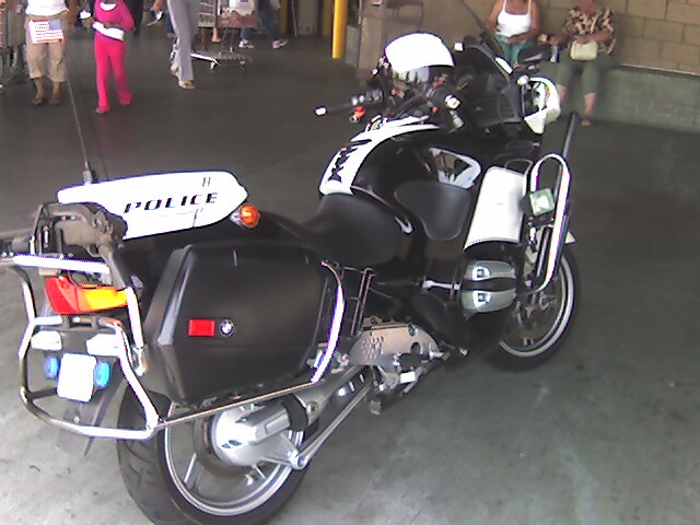 Cool Police Bike Shot 2 | Another view of it. | By: Mozul ...