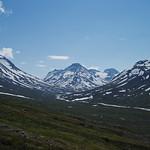 Snowy peaks in Jotunheimen