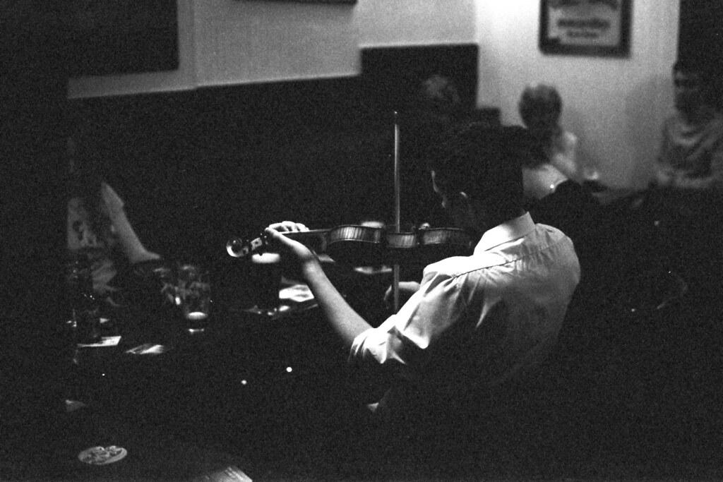 Fiddler in the Pub, Skerries, Ireland