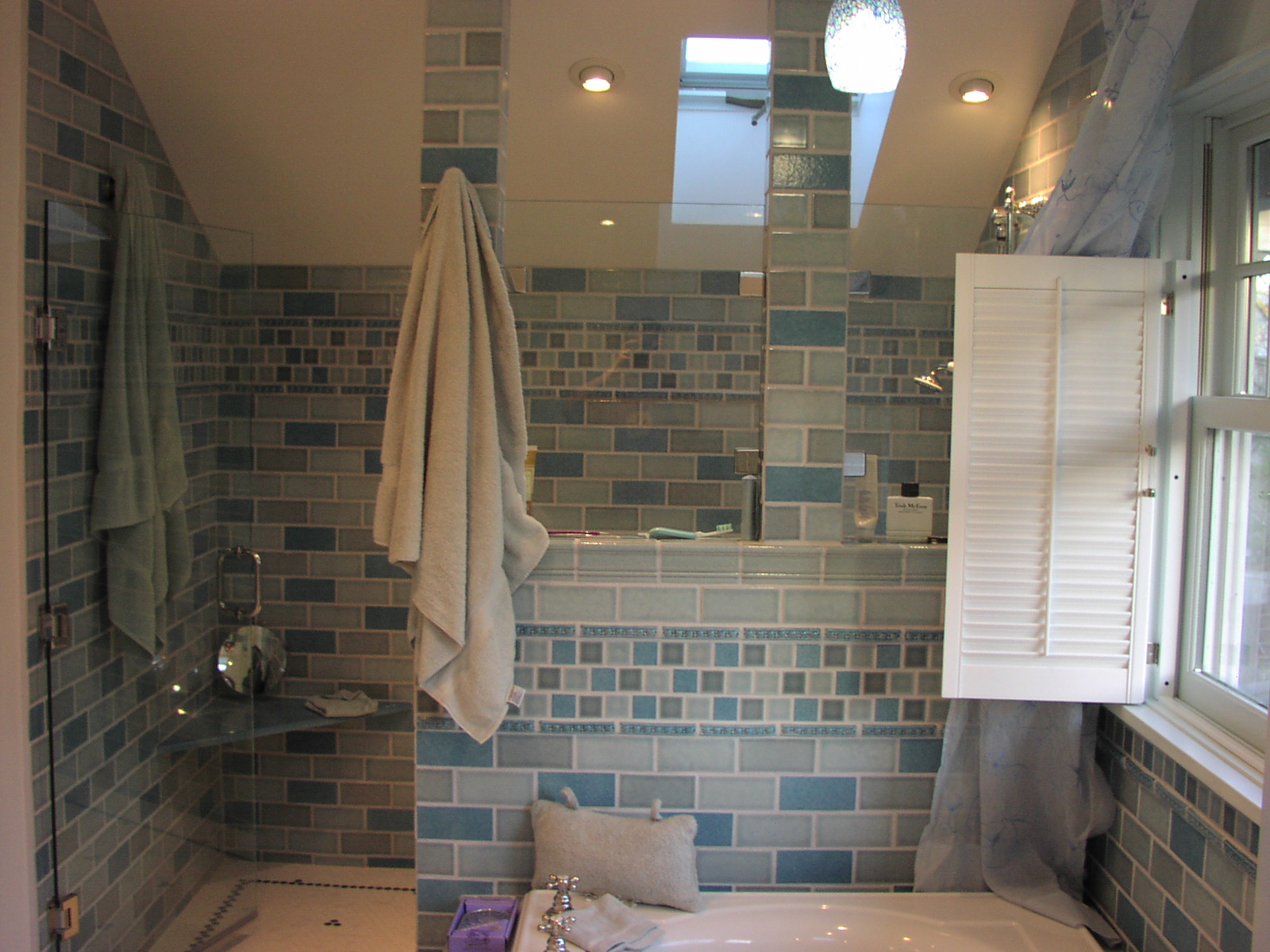 bathroom after remodel   Tiles from San Jose Tile Co. The ...