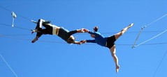 adventure, jumping, flying trapeze, sports, extreme sport, performance, physical exercise,