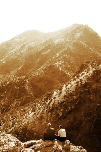 mountains landscape iran places