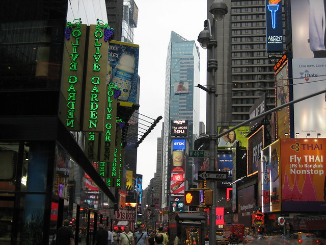 Times Square And The Olive Garden Flickr Photo Sharing
