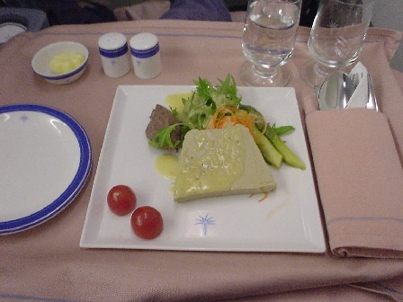 SQ Raffles Class Lunch - Alfred Portale