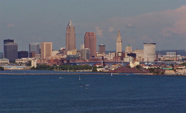 Downtown Cleveland by CC user springfieldhomer on Flickr