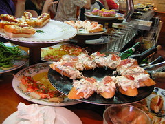 seafood(0.0), samgyeopsal(0.0), meal(1.0), supper(1.0), brunch(1.0), buffet(1.0), food(1.0), dish(1.0), cuisine(1.0),