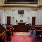 The Arkansas Senate chamber