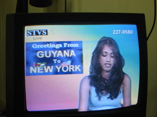 Greetings from Guyana to New York
