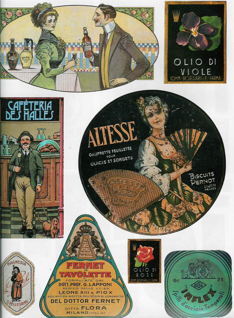 Decoupage Images to Download | Even more old labels
