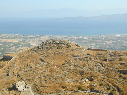 acrocorinth geolat378938425 geolon228802285 geotagged ruins view