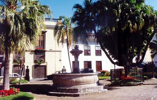 Plaza de la Pila - Rincón típico de Icod