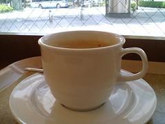 Coffee before meeting