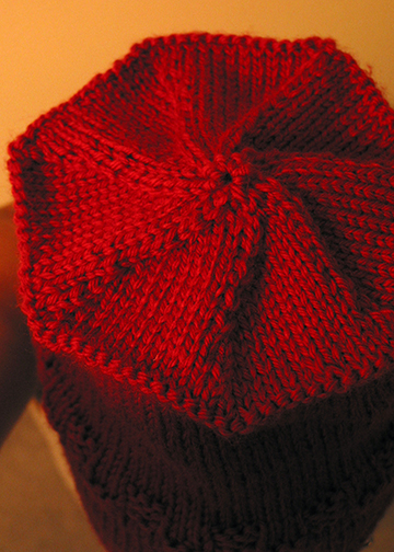 Susan's Toque, Detail of Top