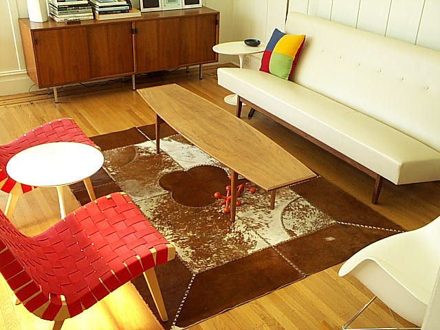 LIving Room With Cowhide Rug Flickr Photo Sharing