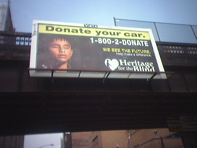 Donate Your Car To The Blind. | To: Creative Dept. From: Acc ...