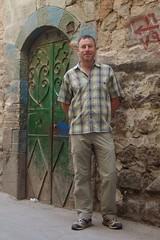 Charles in Damascus backstreet