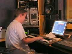 radio(0.0), personal computer(1.0), audio engineer(1.0), recording(1.0),