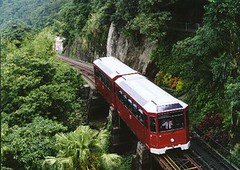funicular(1.0), vehicle(1.0), train(1.0), transport(1.0), rail transport(1.0), public transport(1.0), rolling stock(1.0), track(1.0), land vehicle(1.0), railroad car(1.0),